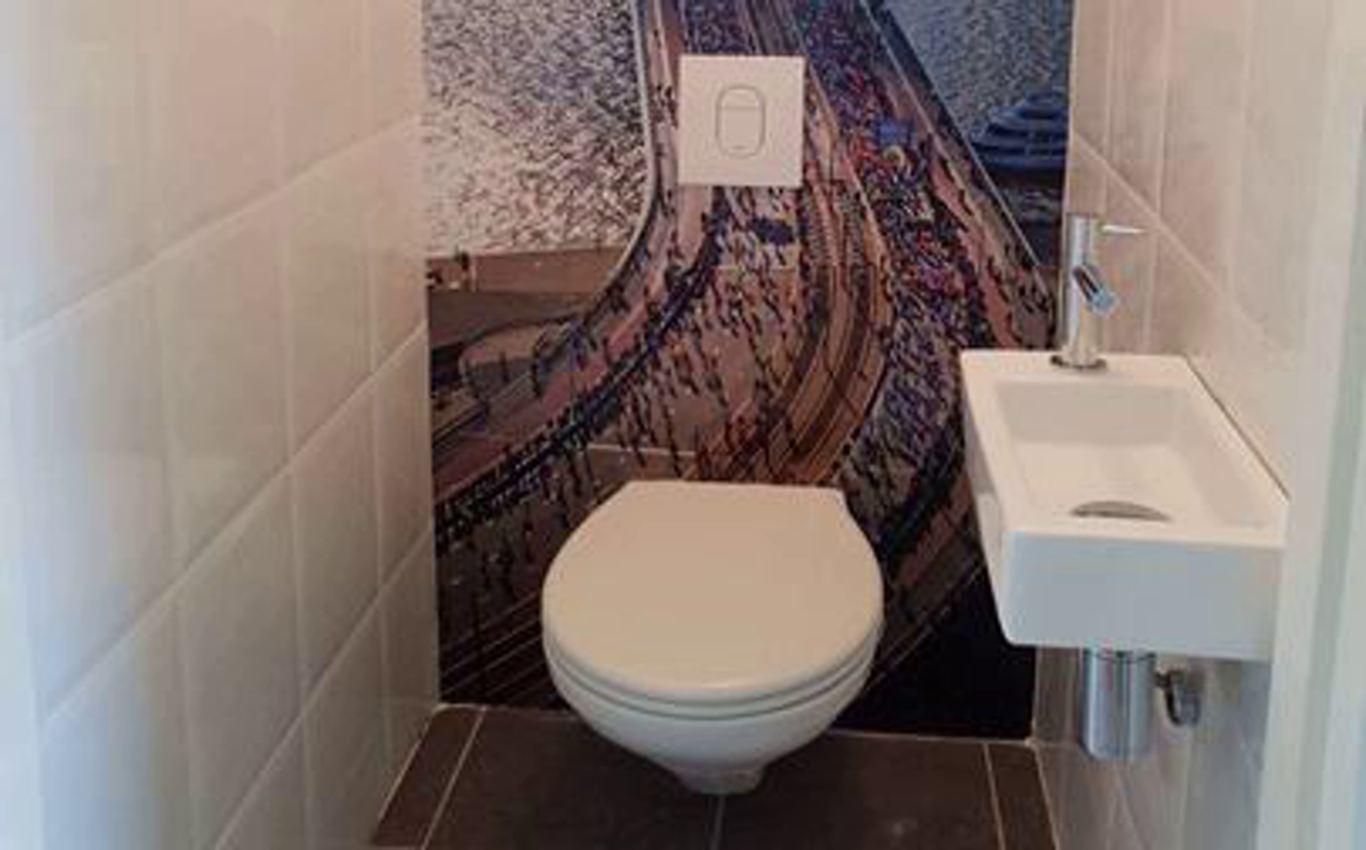 Geplaatst toilet in Leiderdorp